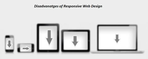 disadvantages of responsive web design