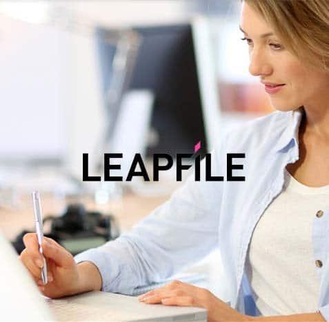 leapfile web design