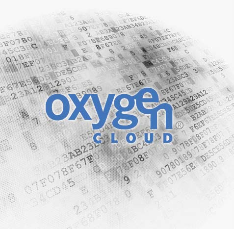 oxygen cloud web design