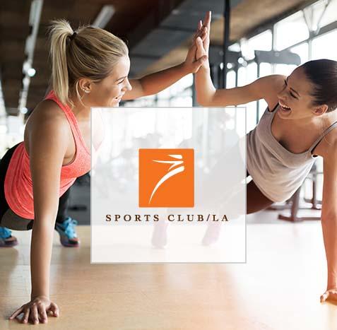 Sports Club/LA Web Design