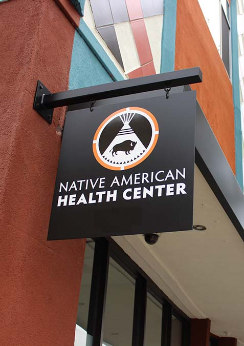 Native American Health Center Web Design