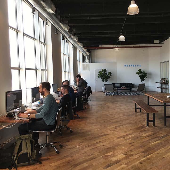 DEEPBLUE web design office