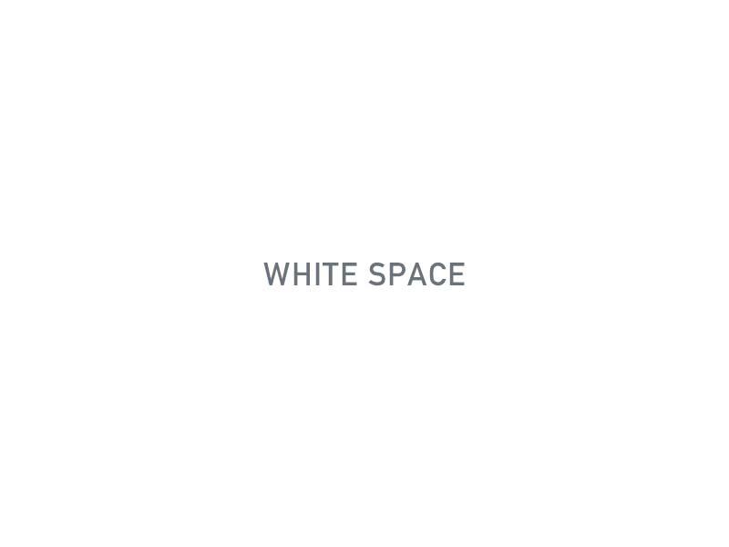 web design trends white space