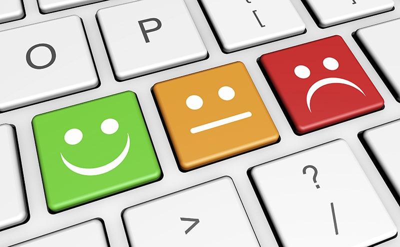 website stink customer feedback