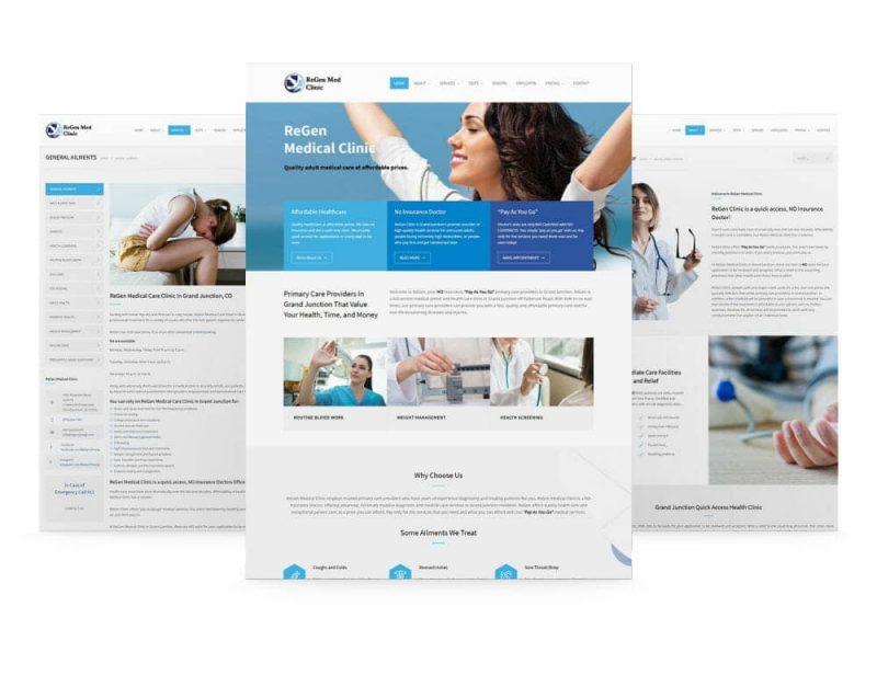 healthcare web design guide
