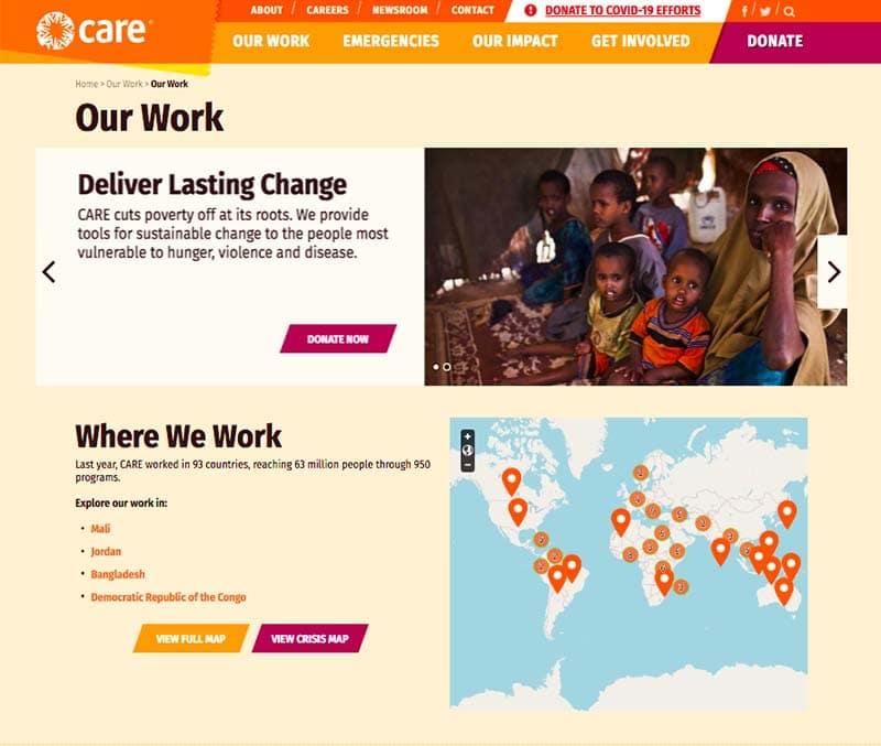 san francisco non profit web design