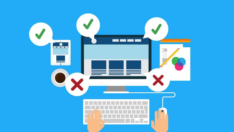 website development mistakes