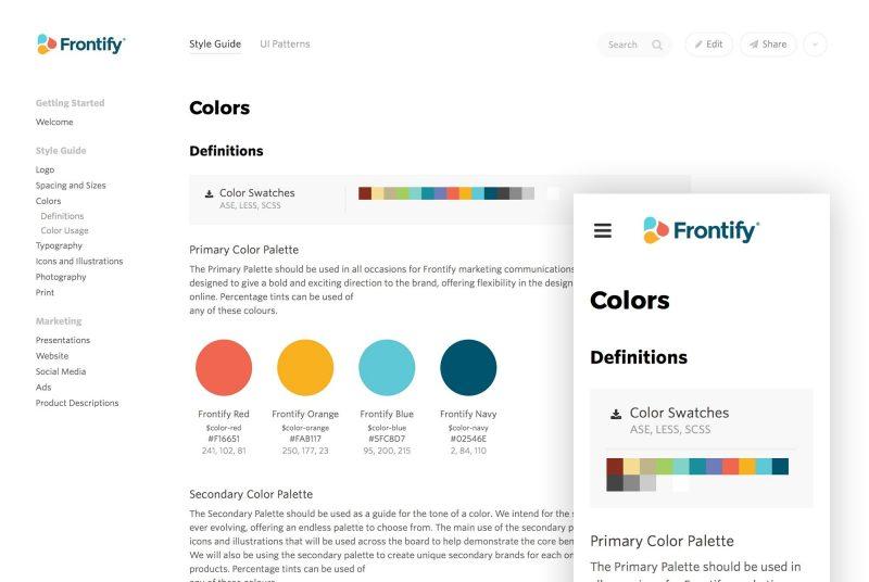web design style guide